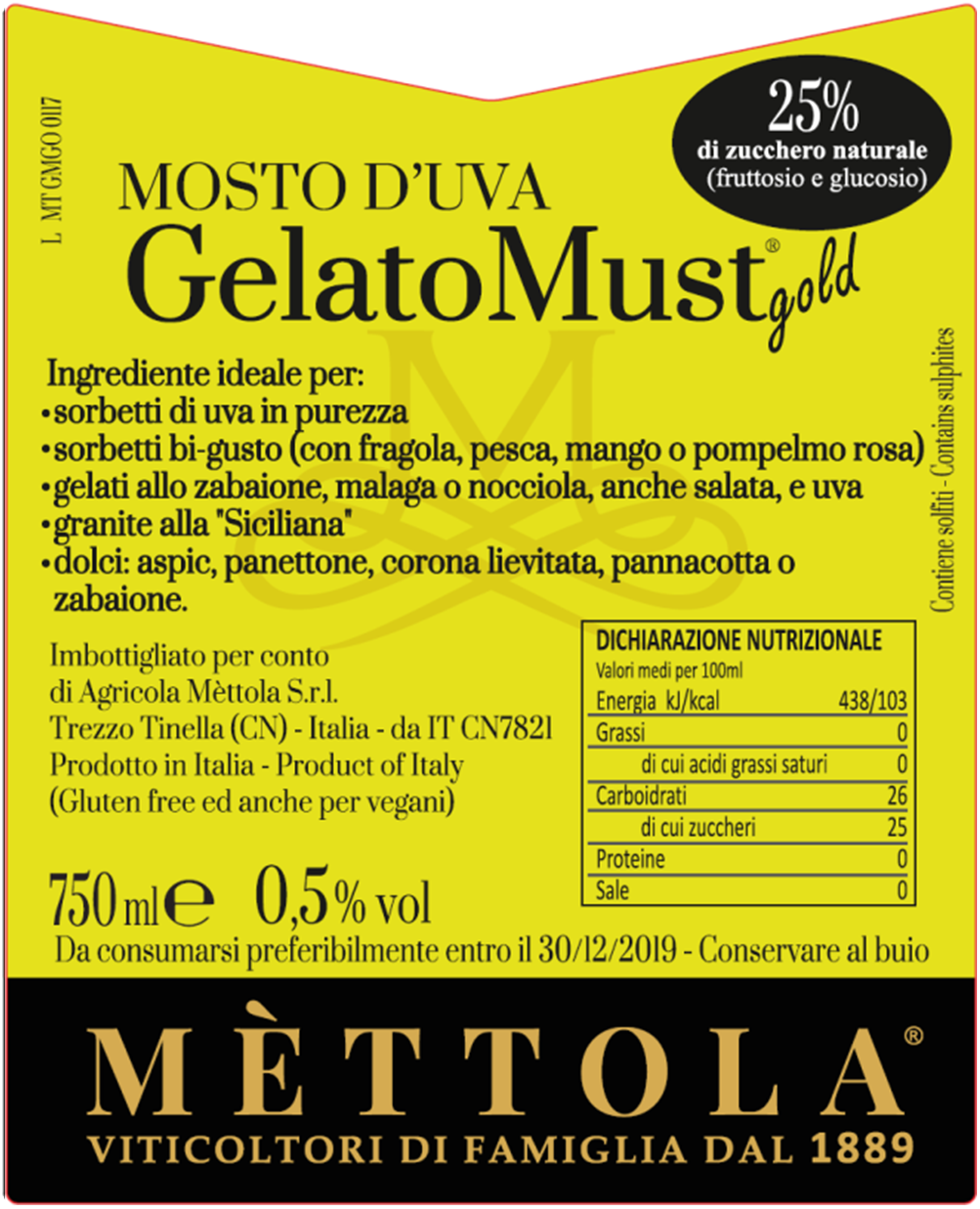 GelatoMust Gold
